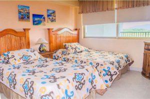 Renta de Departamentos Vacacionales de 2 recámaras en Ixtapa Zihuatanejo, al interior del Hotel Tesoro Ixtapa, vista al mar garantizada, con acceso a la Playa El Palmar Ixtapa y con alberca | Enna Inn Ixtapa