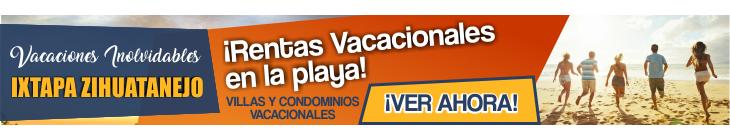 Villas para vacaciones en Ixtapa Zihuatanejo, al interior del Hotel Tesoro Ixtapa, con acceso a las instalaciones del hotel, alberca, cocina, playa en Ixtapa Zihuatanejo. Nuestras Villas Vacacionales son ideales para tus próximas Vacaciones en Ixtapa Zihuatanejo